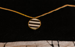Stripe necklace