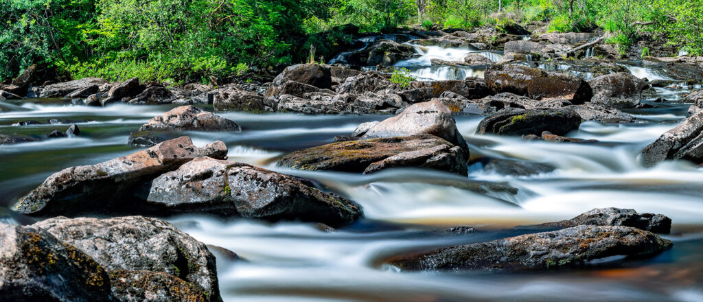 Perthshire river